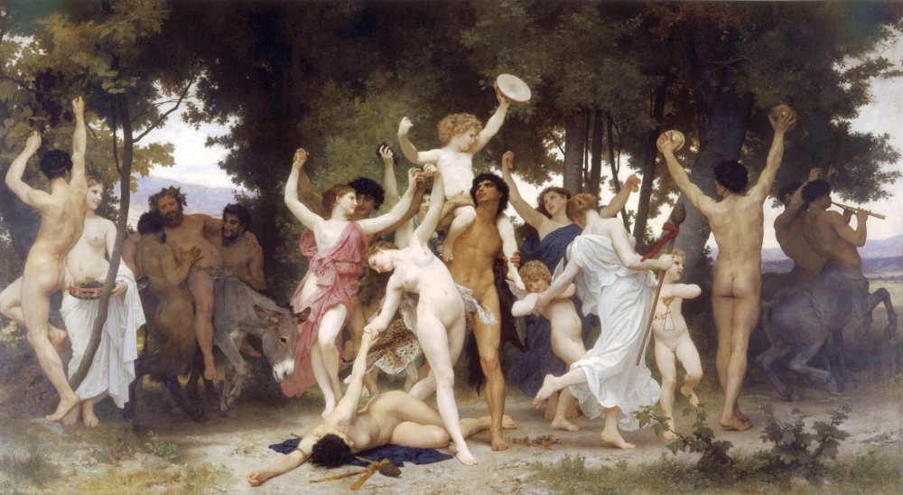 The Youth of Bacchus, 1884, by William Adolphe Bouguereau
