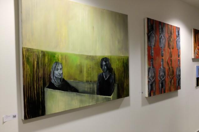"""""""Past and Present Past 1.1"""" and """"Past and Present Past 1.3"""" by Dorota Dziong."""