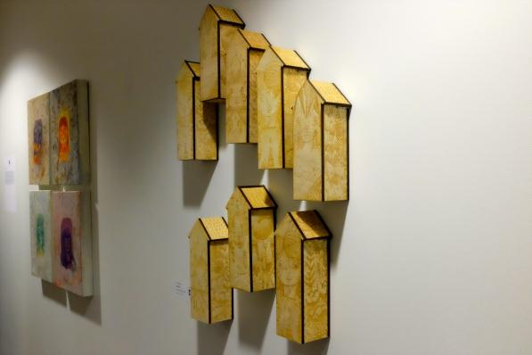 """""""Birdhouses"""" by Lido Pimienta."""